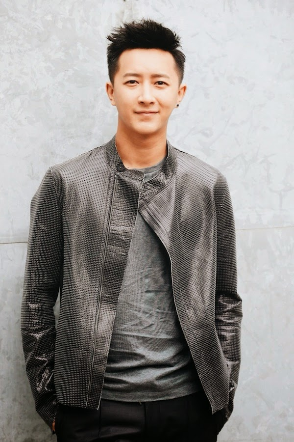 Han Geng at Emporio Armani Milan Menswear Fashion Week Spring Summer 2015 韩庚亮相阿玛尼米兰春夏2015时装秀