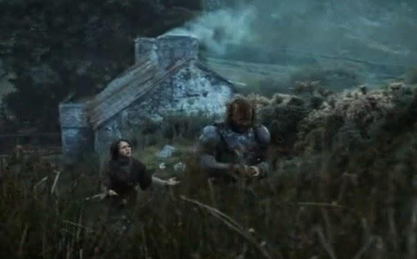 Arya y el Perro episodio 4x03 - Juego de Tronos en los siete reinos