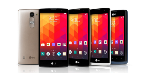 LG introduces four new mid-range Android handsets