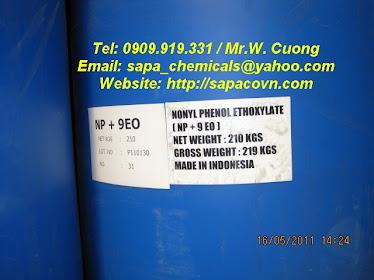 Nonyl phenol ethoxylate - NP9 - NP 4 -> 50