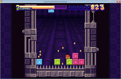 how to play super puzzle platformer deluxe controls