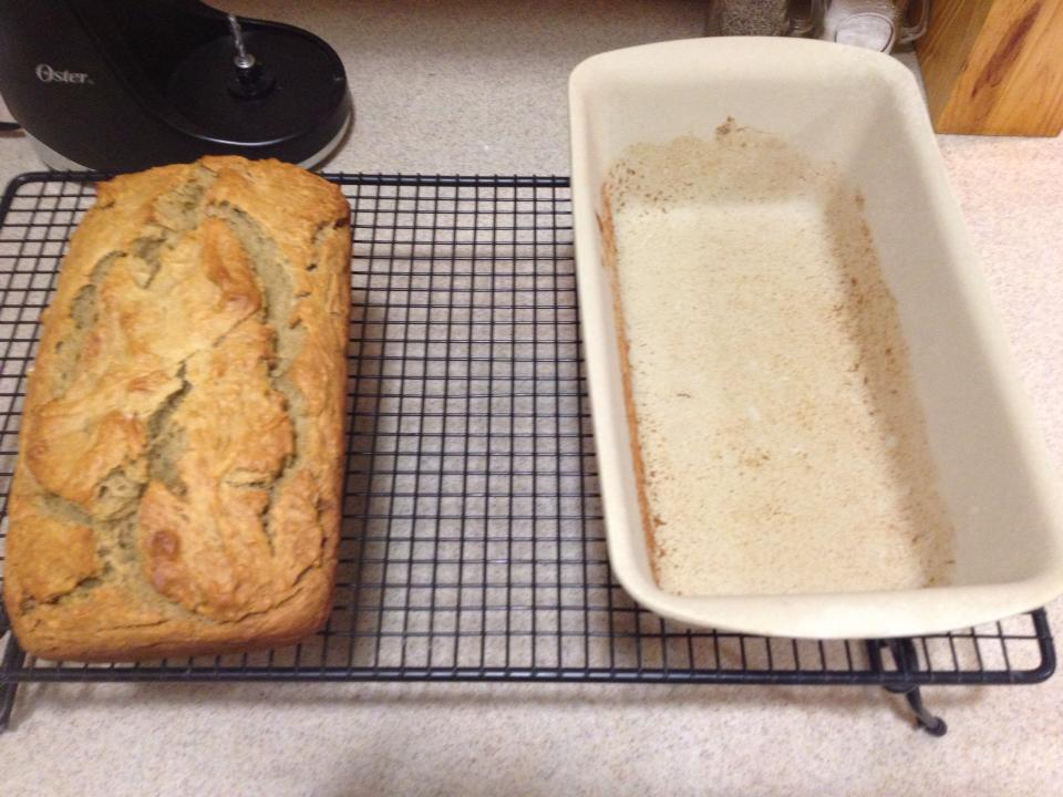 Taras go to recipes super banana bread to mash my bananas i use my manual food processor which is amazing by the way because it is easier to clean than my electric one and the sound doesnt forumfinder Image collections