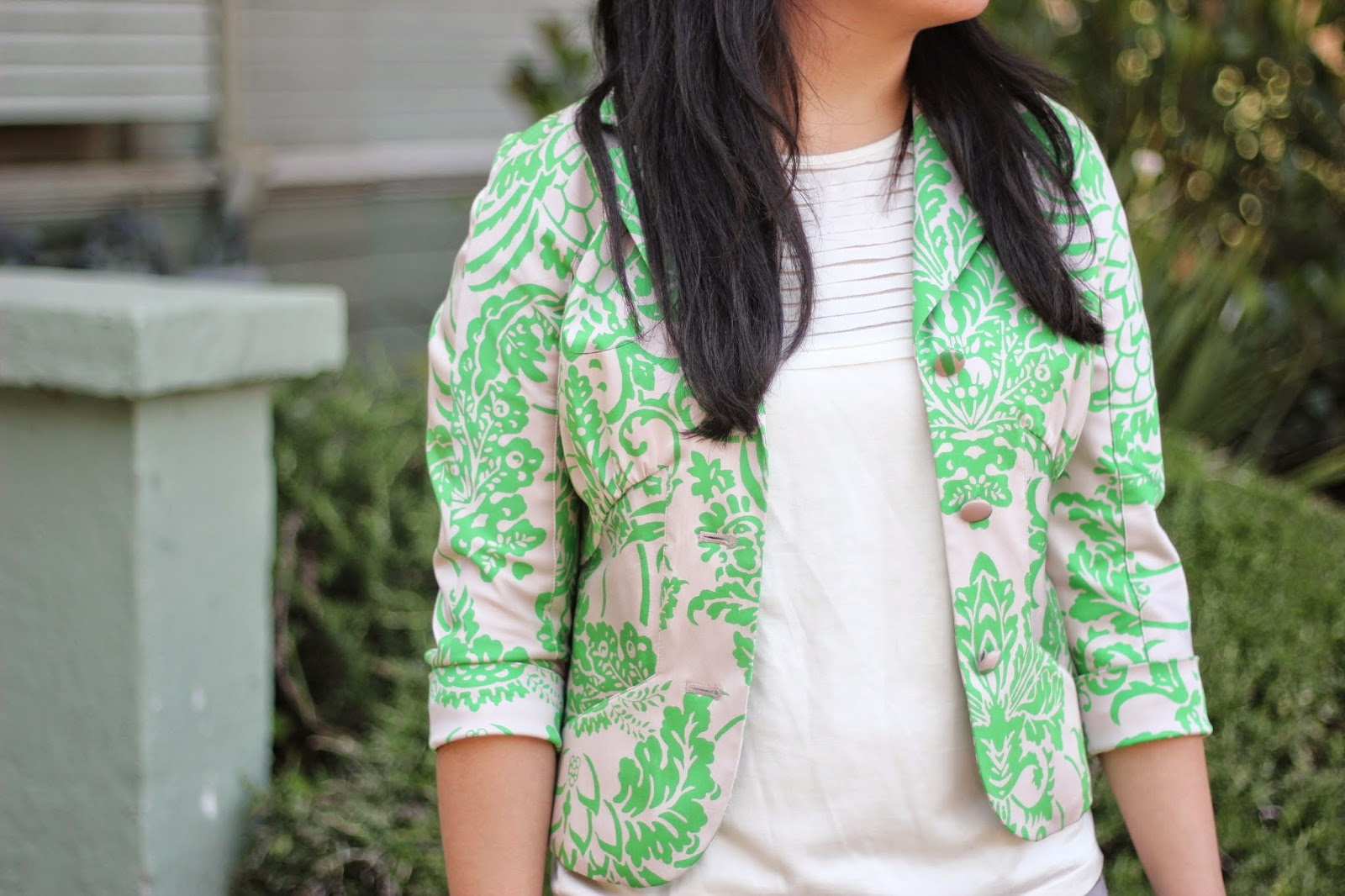 DVF Brocade Jacket