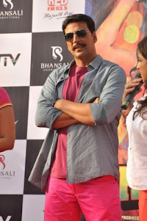 Akshay Kumar in & as Rowdy Rathore