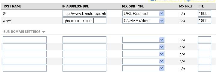 Cara Custom Domain Blogspot Terbaru 3