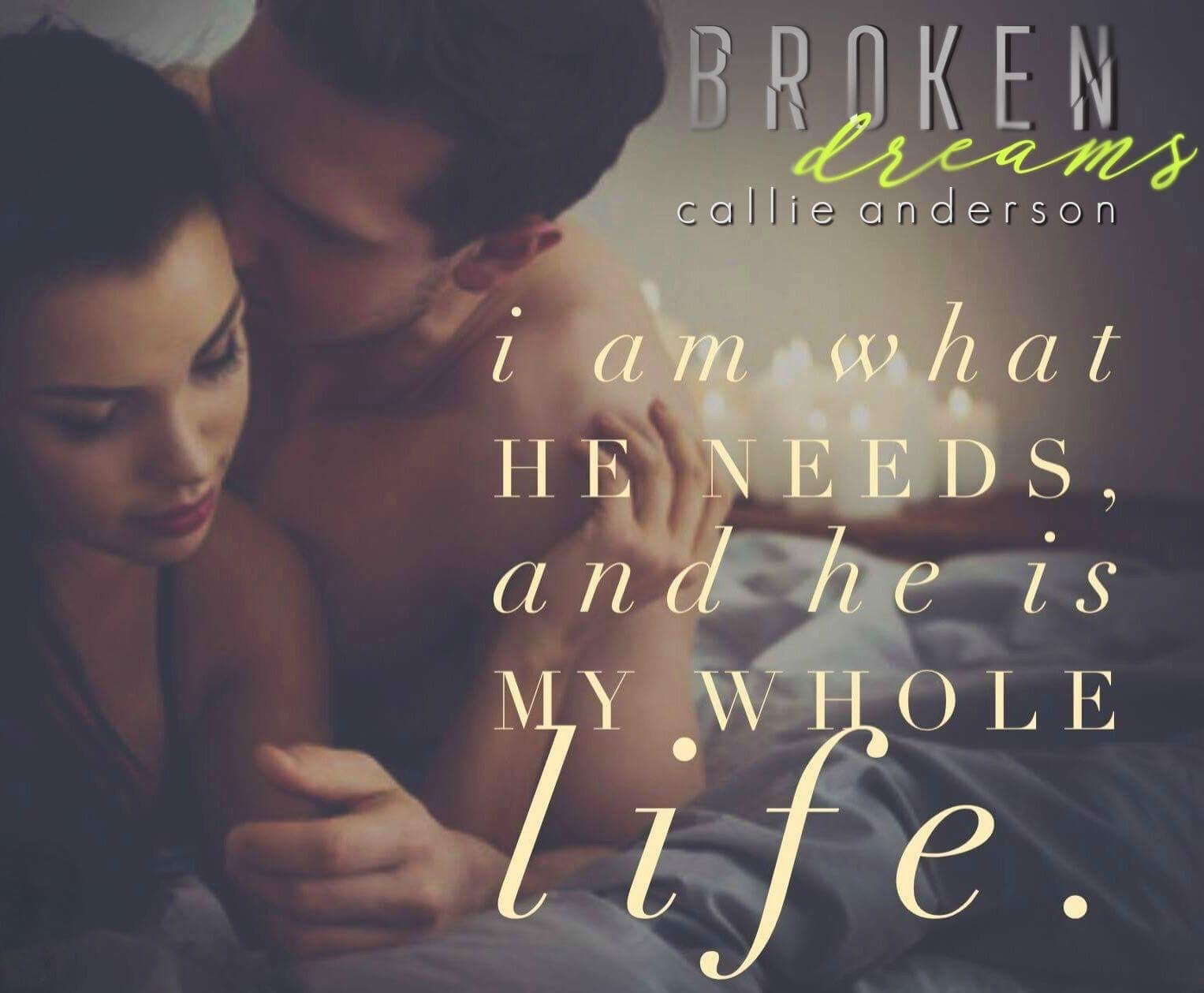 Broken Dreams Cover Reveal