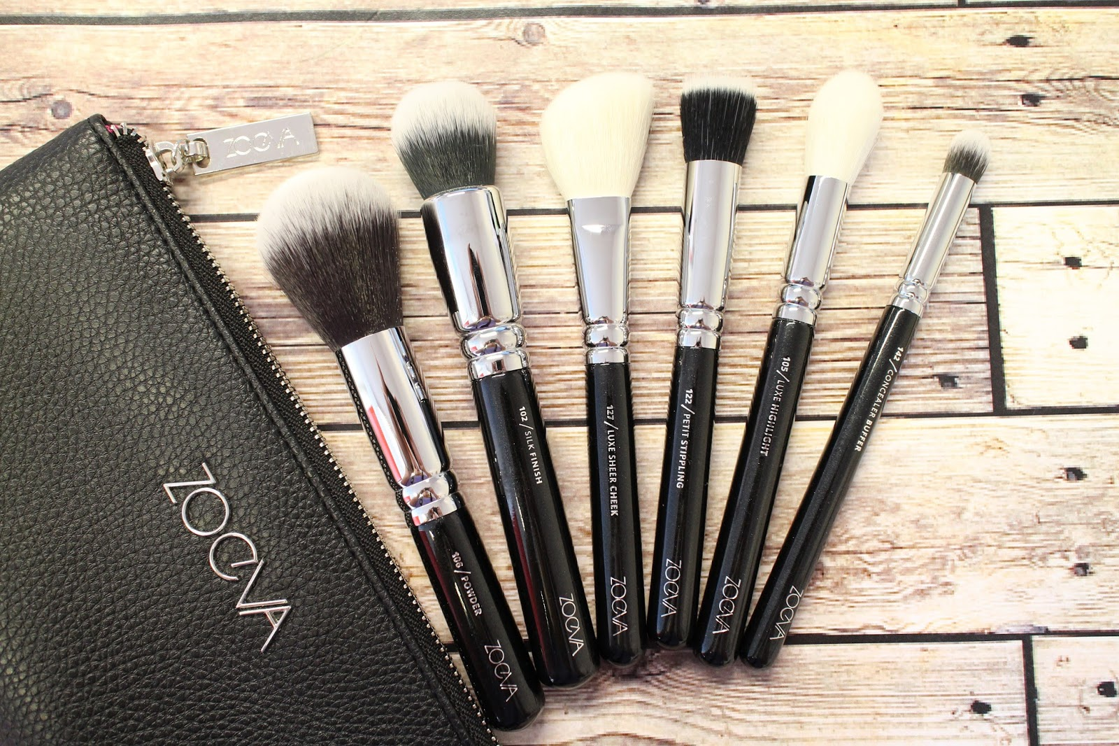 L.E.M Beauty Blog | Zoeva classic brush set