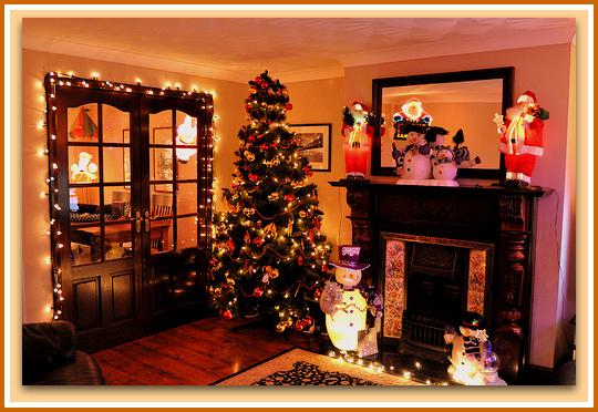 Dise o y decoraci n de la casa la navidad llega y nuestro for Disenos de living