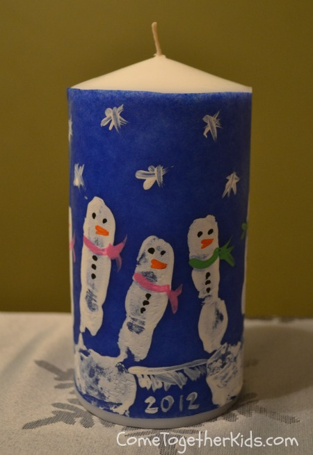candle making, snowmen, gift ideas