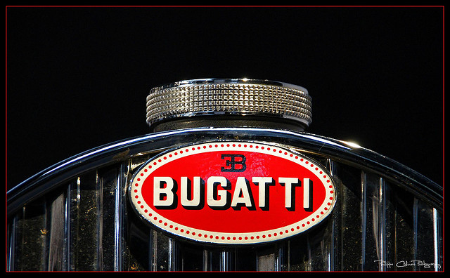 Car Logos With Horses On Them Bugatti logo