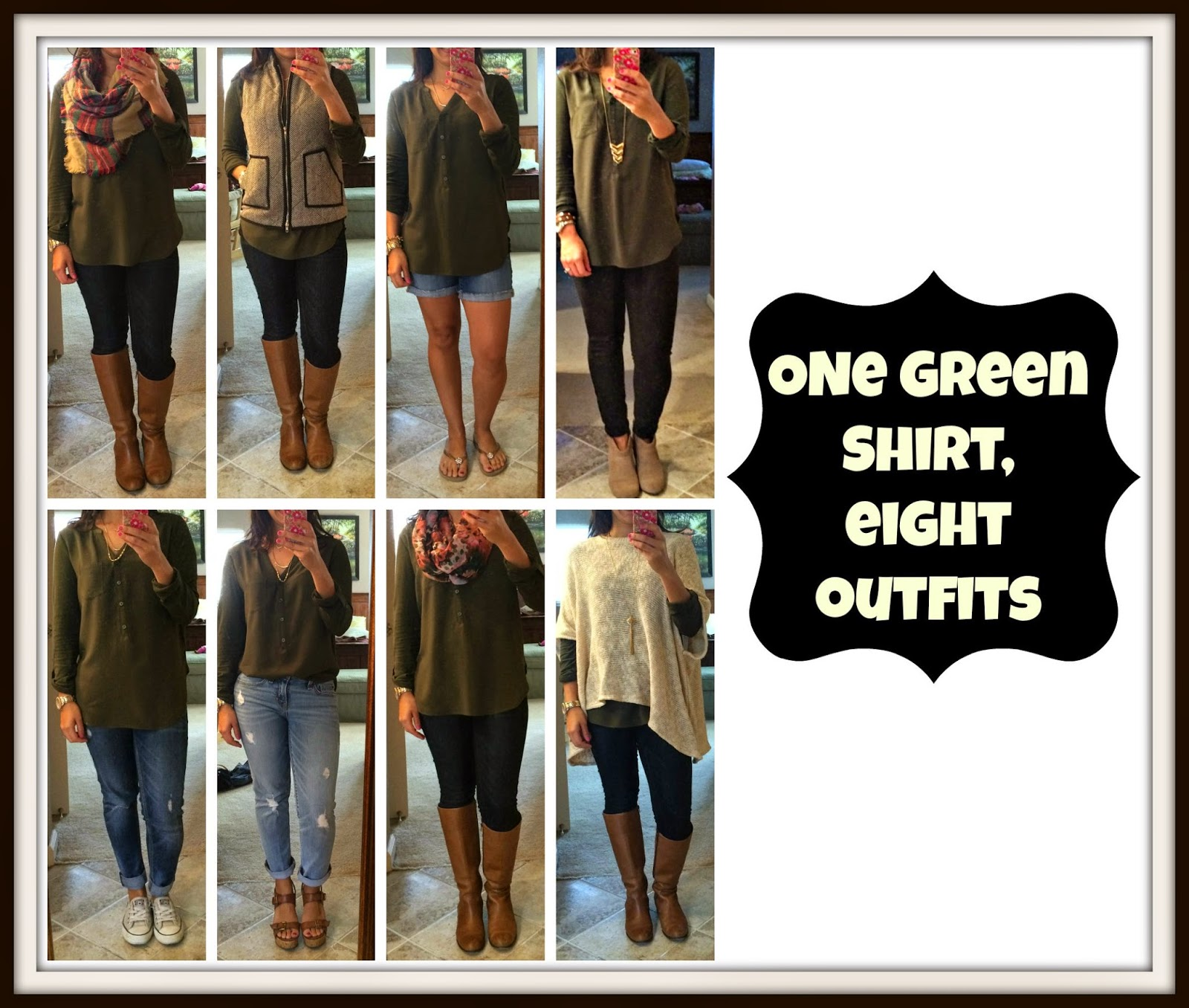 Ways to Wear Olive Green Shirt