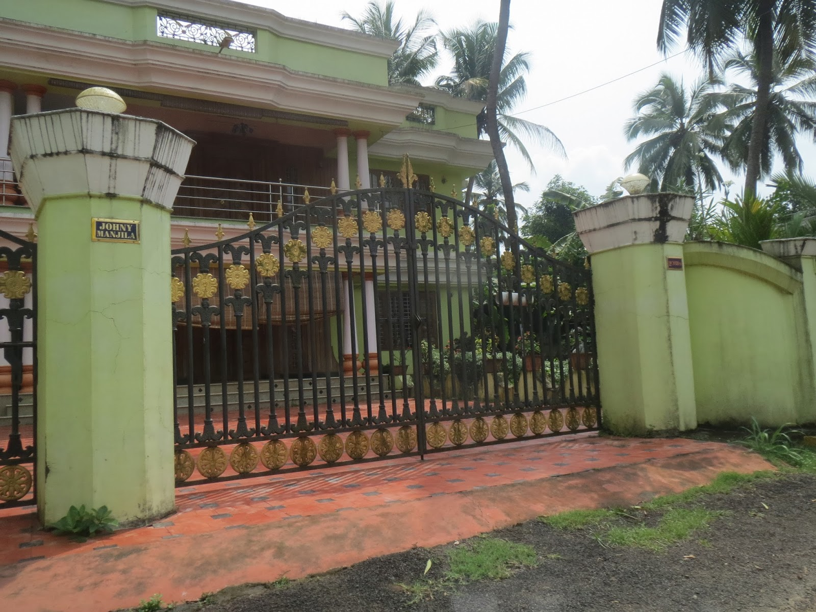 Kerala Gate Designs House Gates In Kerala India