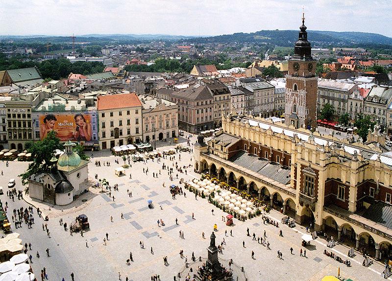 Krakow Old Town, Main Market Square