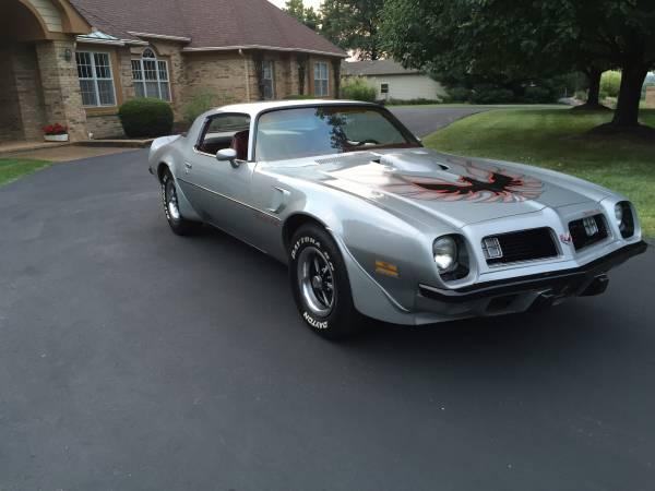 1975 Pontiac Trans Am Original Low Miles Auto Restorationice