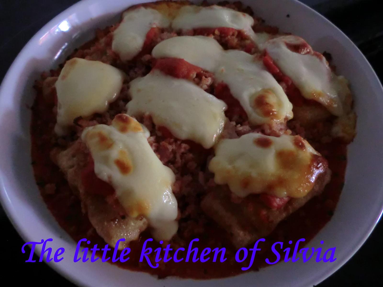 The little kitchen of silvia bacalao con queso arz a - Cocinar bacalao congelado ...