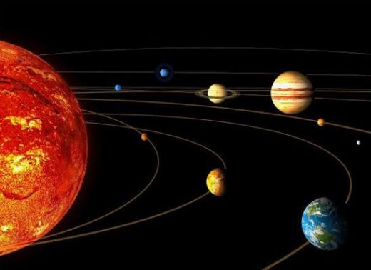 planets orbiting the sun wallpaper - photo #41
