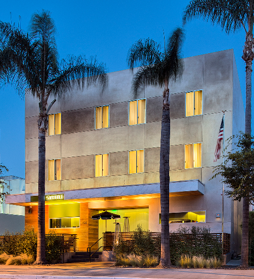 Sirtaj Hotel em Los Angeles