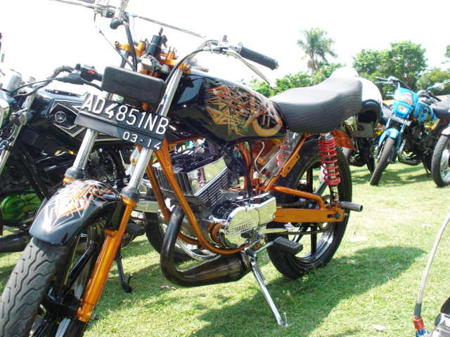 Gambar Modifikasi Motor Rx King Terbaru