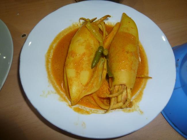 Chipirones en salsa Padang