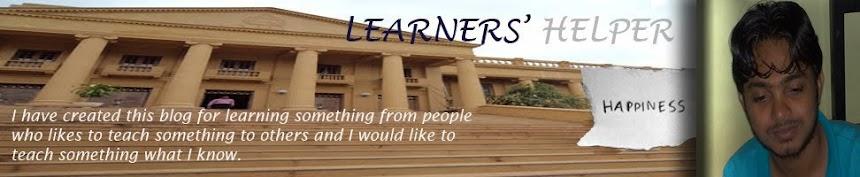 LEARNERS' HELPER