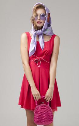 vestido rojo Kling