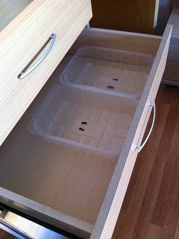 separadores reciclados para el cajon 2