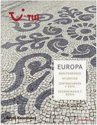 Catálogo de Tui Royal Vacaciones Europa 2015