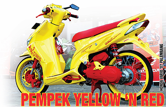 Honda Vario '07 : Pempek Red n Yellow