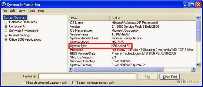 Cara Mudah Mengetahui Laptop 32 bit atau 64 bit