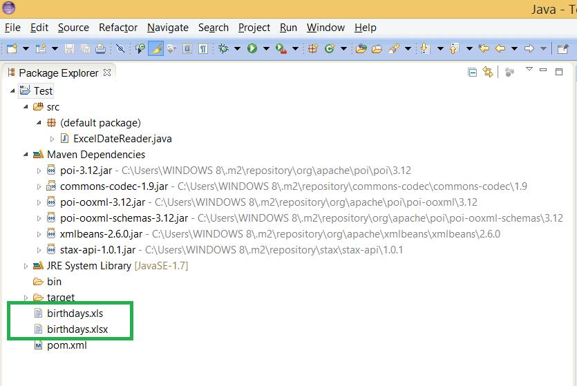 write string to file java