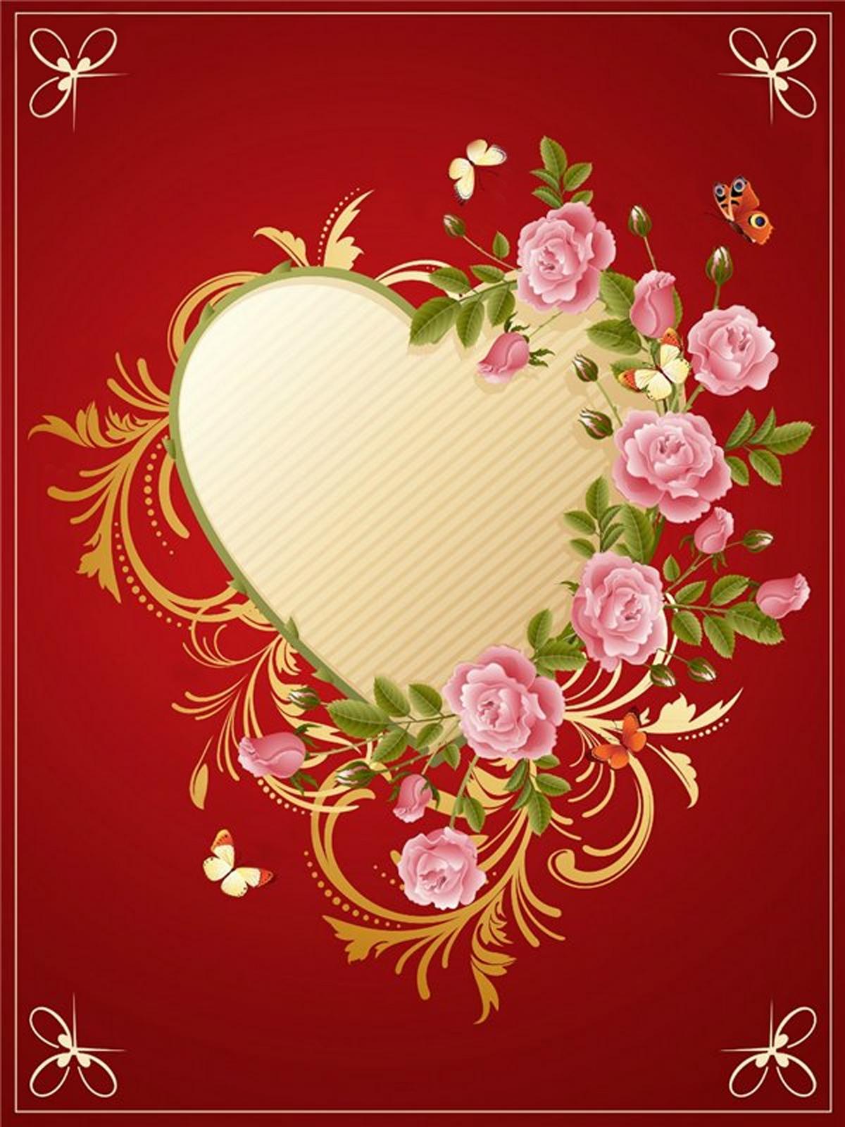 Сделай сам открытка сердце в сердце 187