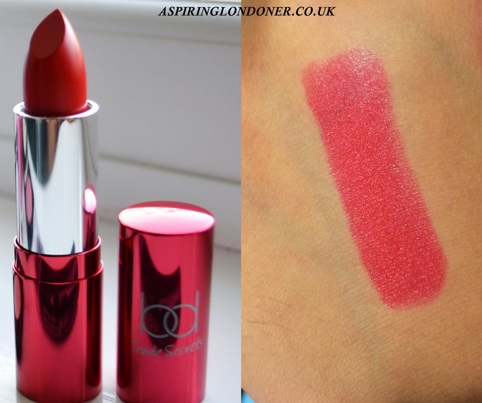 BD Trade Secrets Velvet Cream Lipstick in Runway - Aspiring Londoner