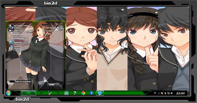 Amagami SS [ Theme Windows 7 ] 2
