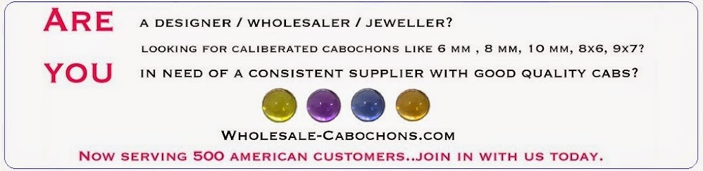 Wholesale-Cabochons(Dot)Com - Semi Precious Cabochons And Precious Cabochons