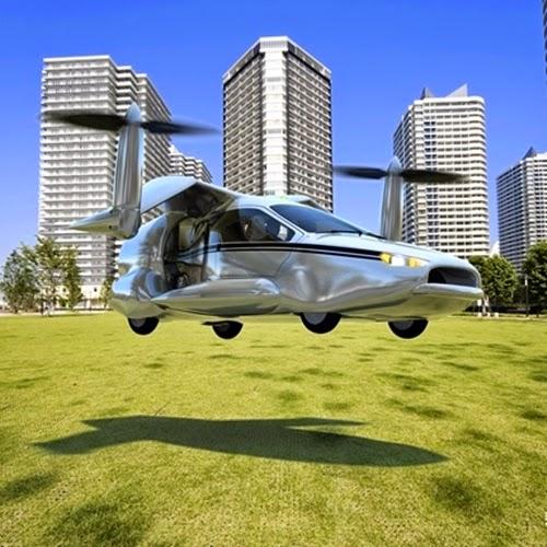 Primeiros carros voadores devem chegar ao mercado em 2016
