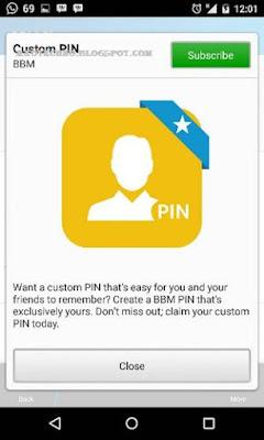 Cara Membuat PIN BBM Sendiri di Android