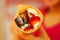 'Crepes goodness' by Klardrommar on Flickr