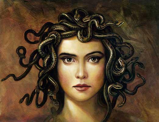 La mirada de la Medusa