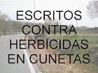 Herbicidas en carreteras y cunetas