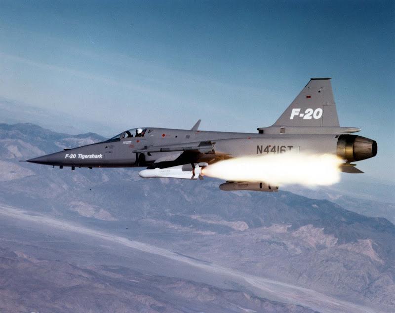Northrop F-20 Tigershark Jet Fighter
