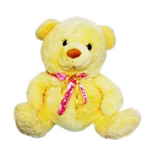 Boneka Teddy Bear Pita Jumbo Kuning