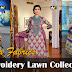 Ajwa Embroidery Lawn Collection 2013 By Al Hamra Fabrics | Embroidered Summer Lawn Dresses For Girls