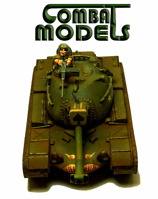 Combat Model M48 Patton (1:55)