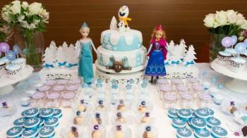 Melhores decorações infantis Frozen