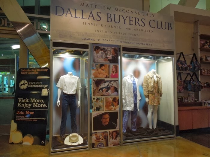 Dallas Buyers Club movie costume exhibit