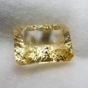 Batu Permata Yellow Citrine - SP1008