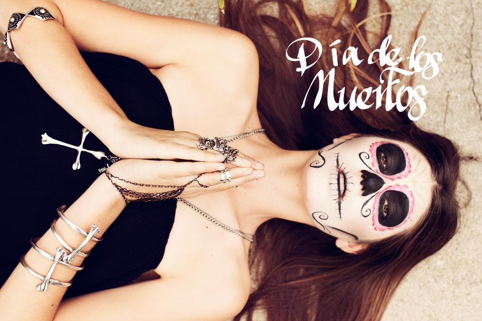 DIA De Los Muertos Maquillaje