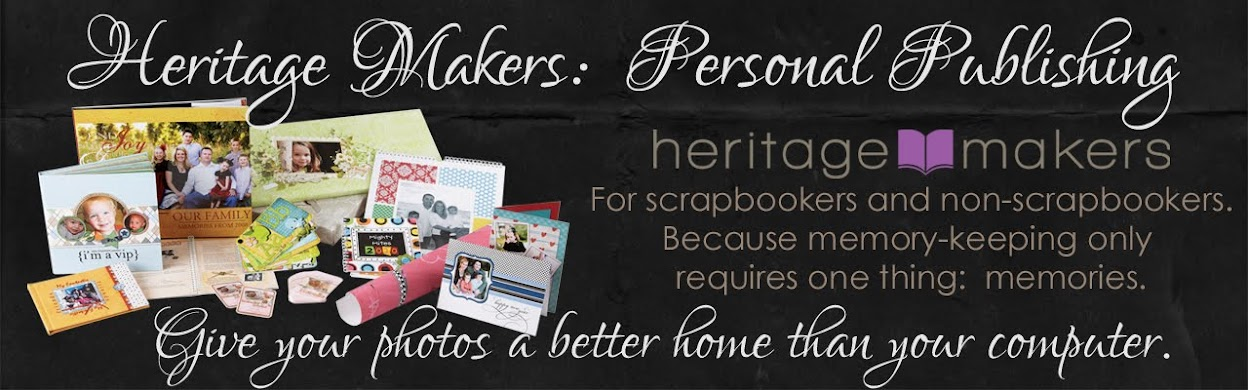 Heritage Makers:  Personal Publishing