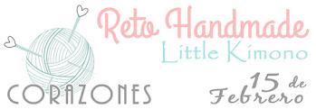 Reto Handmade Little Kimono - corazones