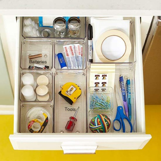 Organization Ideas For Junk Drawers: 31 Days Of Organizing Tips: Day 12 (Kitchen)